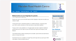Preview of marsdenhc.nhs.uk